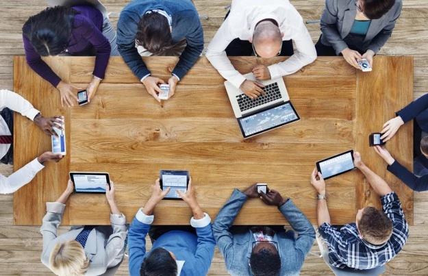 mídia social, marketing digital, arquitetura